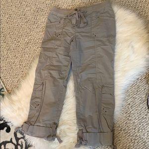 Women's INC cargo pants cropped Capri